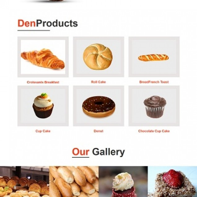 A case study on the website of cream ice cream cake franchise store